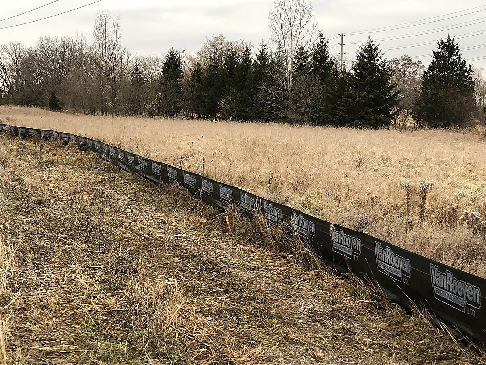 Silt Fencing Ontario Projects - Inline Fence