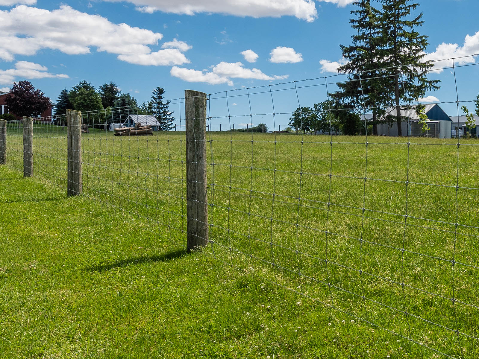Woven Wire Fencing Projects Ontario - Inline Fence