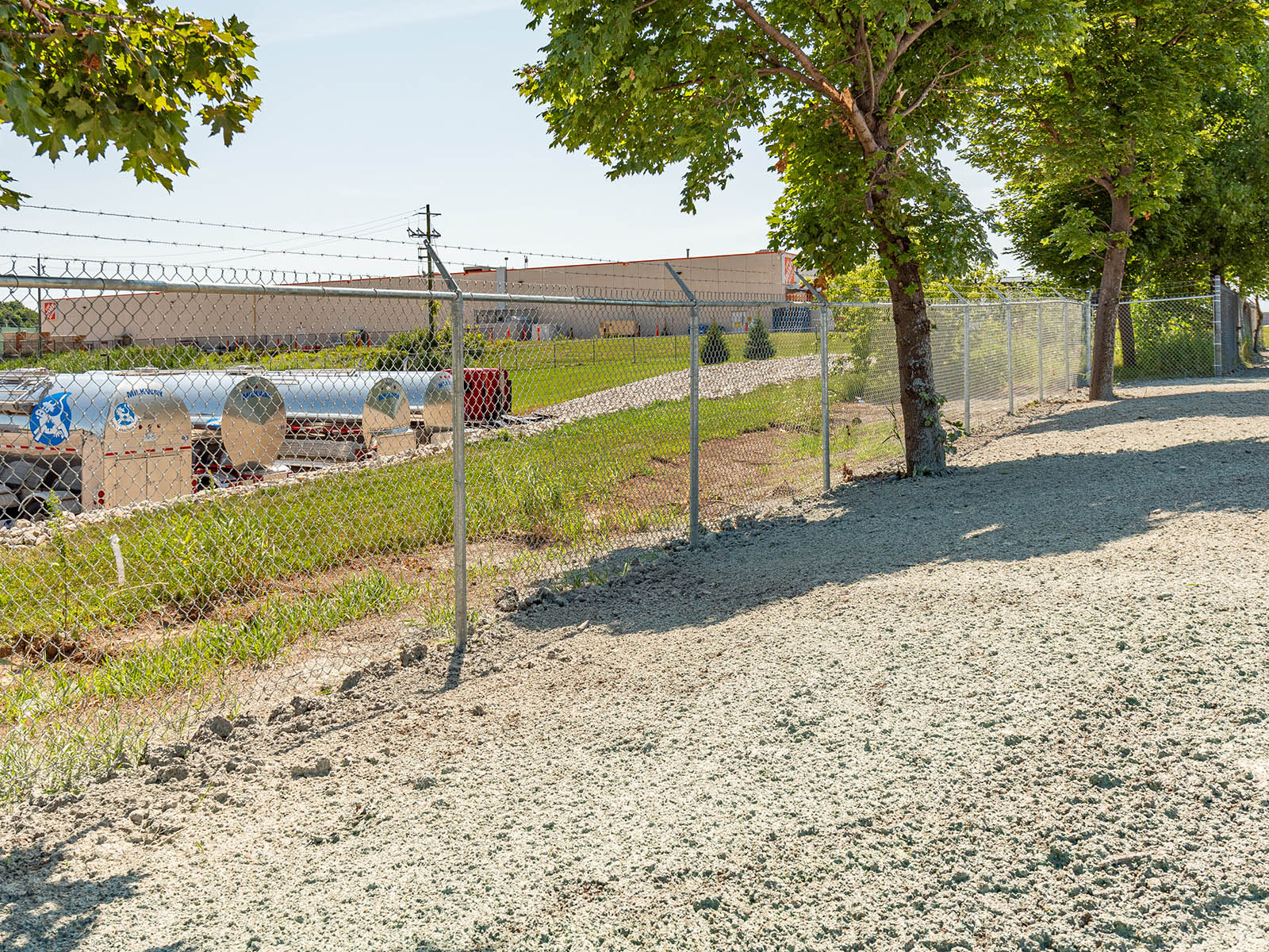 Galvanize Chainlink Projects - Inline Fence Ontario