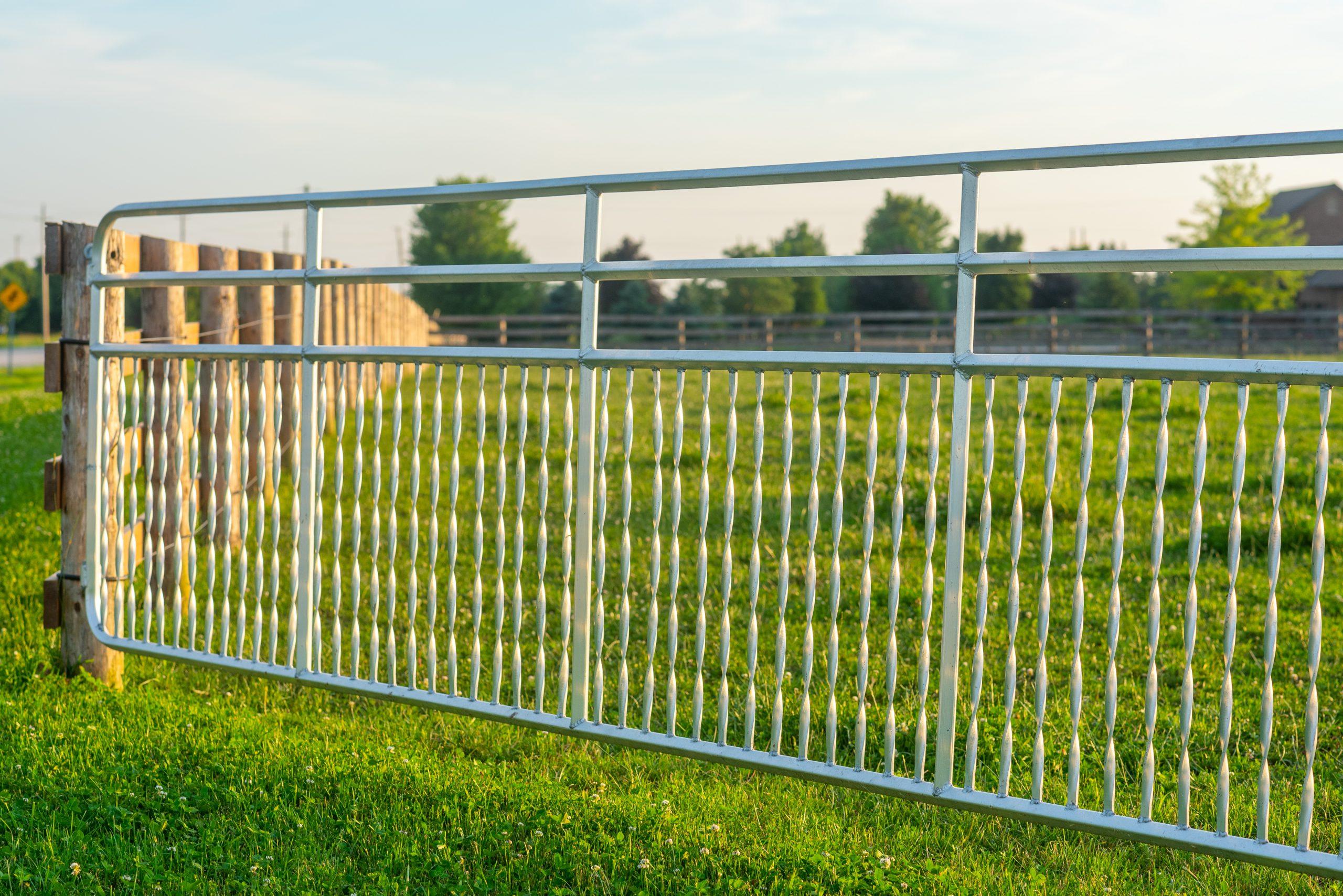 Gate Farm Fence