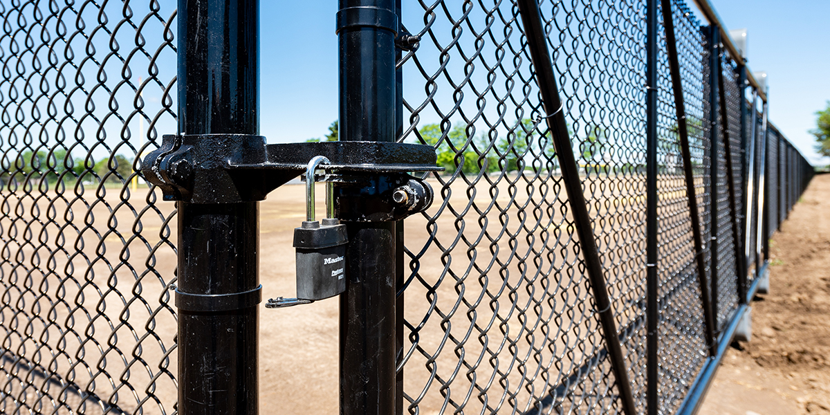 Chain Link Fencing - In-Line Fence Chain Link Fencing - In-Line Fence - Desktop - 1200x600- Desktop - 1200x600
