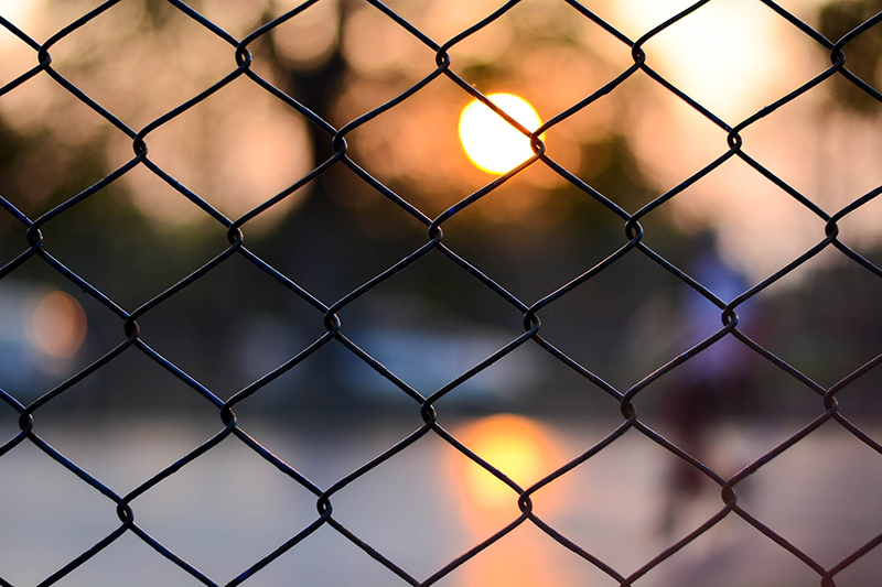 Chain Link Fencing in Brantford, Ontario - In-Line Fence - Mobile