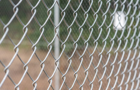Galvanized Chain Link Fencing - In-Line Fence