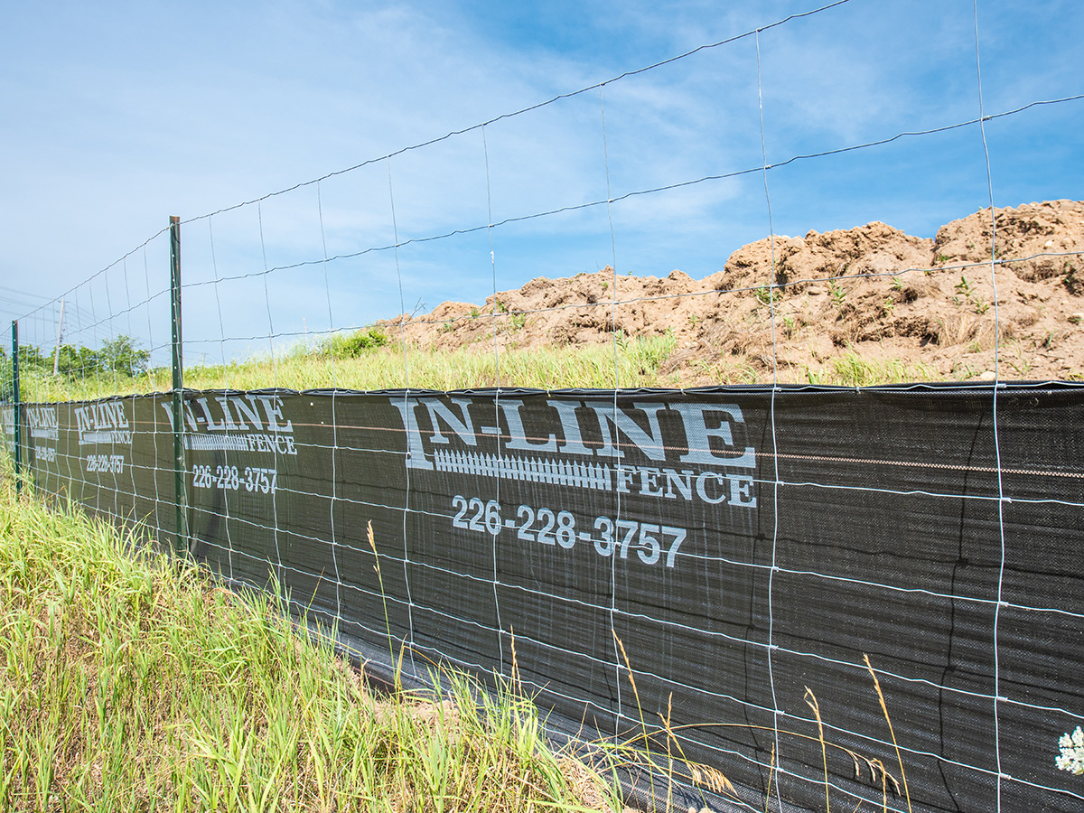 Silt Fencing - In-Line Fence - 03